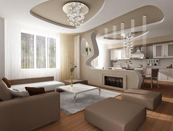 Modern pop false ceiling designs for living room 2015 ...