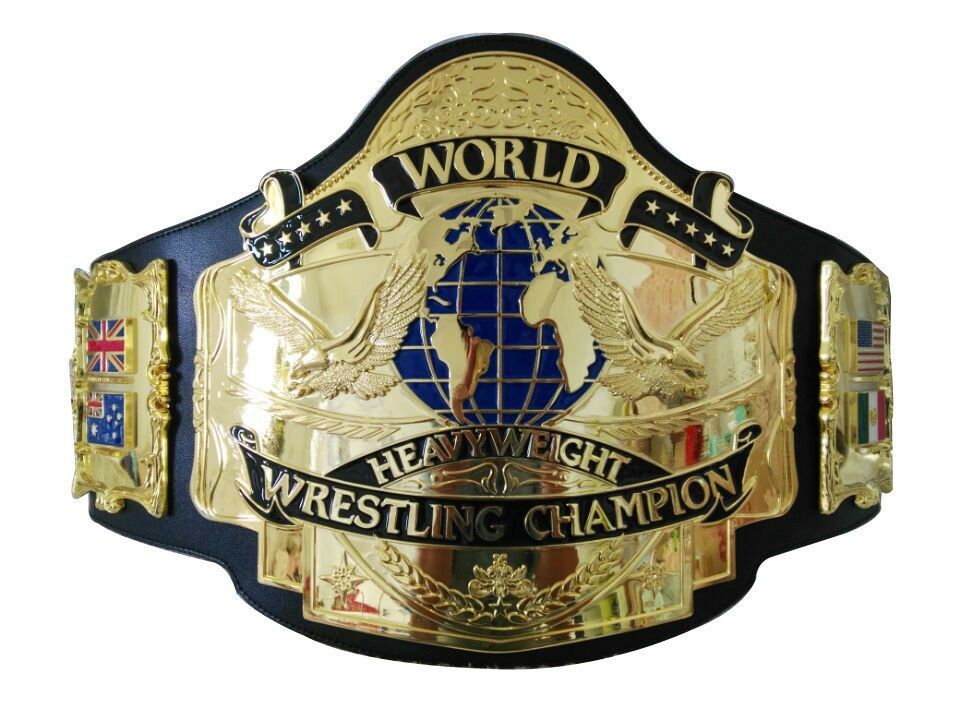 Fandu Andre 87 Adult The Giant Full Gold Wrestling Championship Title Belt