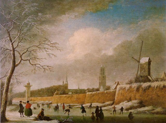 Jan ten Compe (1713-1761) Dutch Landscape Painter | Painting