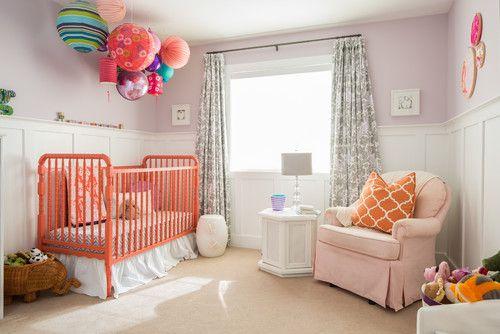 Decoración con globos para el cuarto del bebé | Decoración con ...