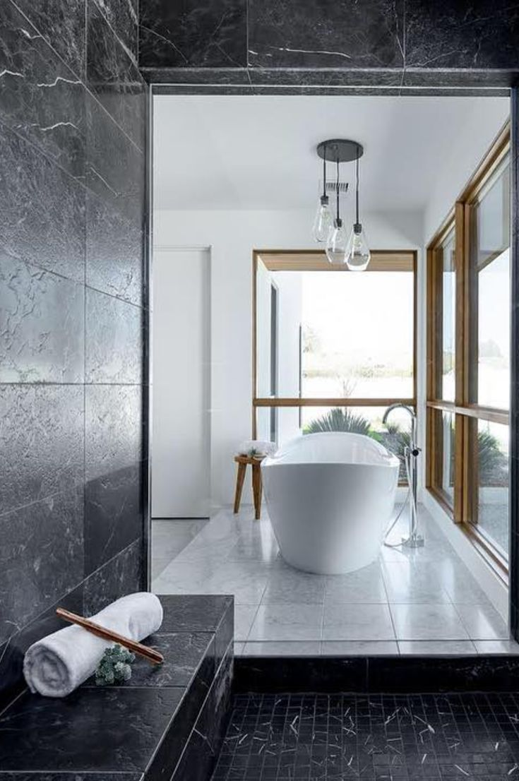 35 Simple And Beautiful Small Bathroom Ideas 2019 My Blog Beautiful Small Bathrooms Black And White Tiles Bathroom Master Bathroom Design