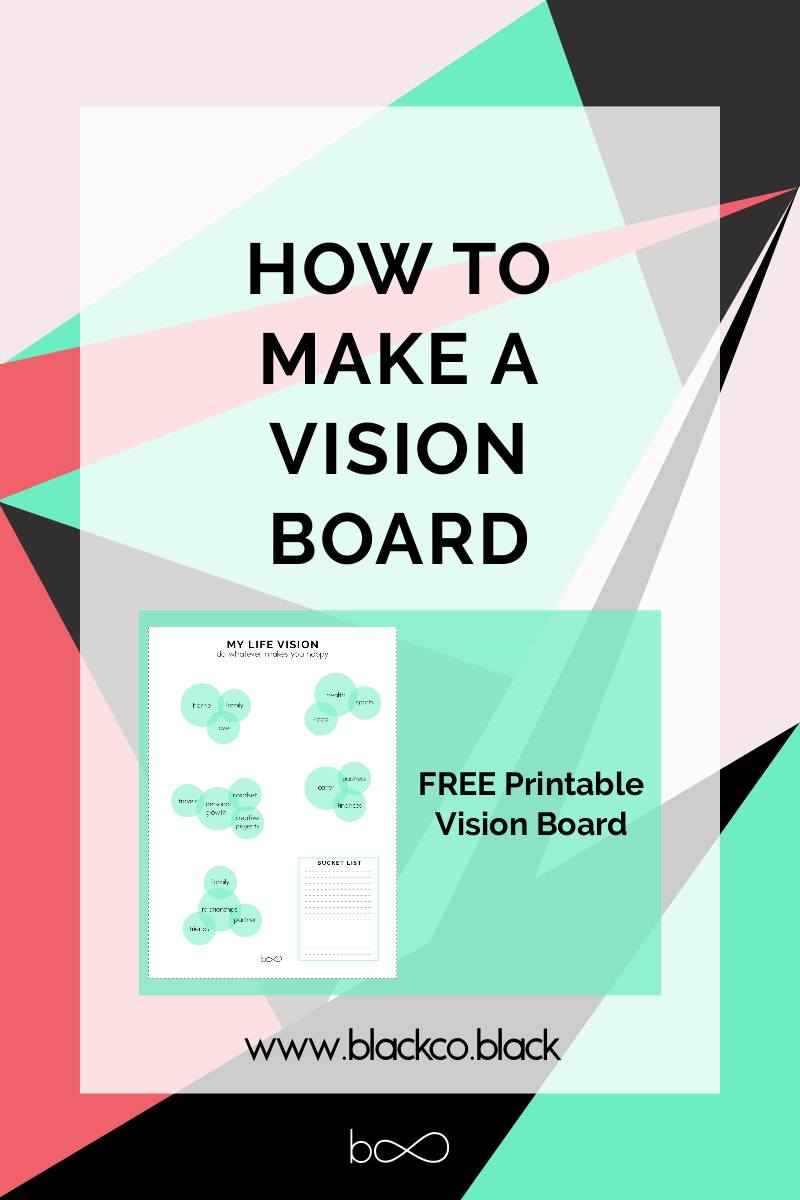How to make a Vision Board With images Making a vision