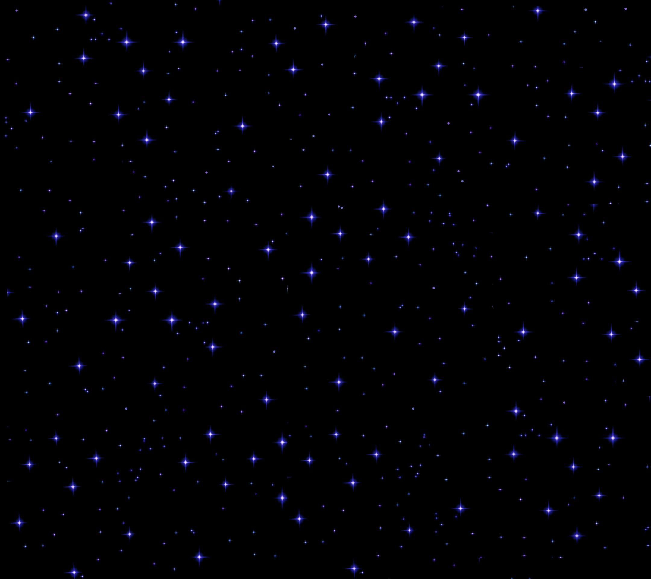 Glowing Night Stars Amoled Wallpapers