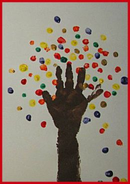 Autumn Arts And Craft Ideas Diy Finger Hand And