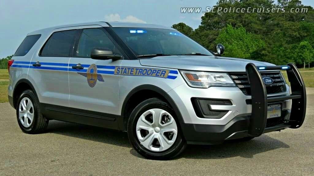 South Carolina Highway Patrol State Trooper Ford Interceptor Utility Slicktop Police Cars South Carolina Highway Patrol Ford Police