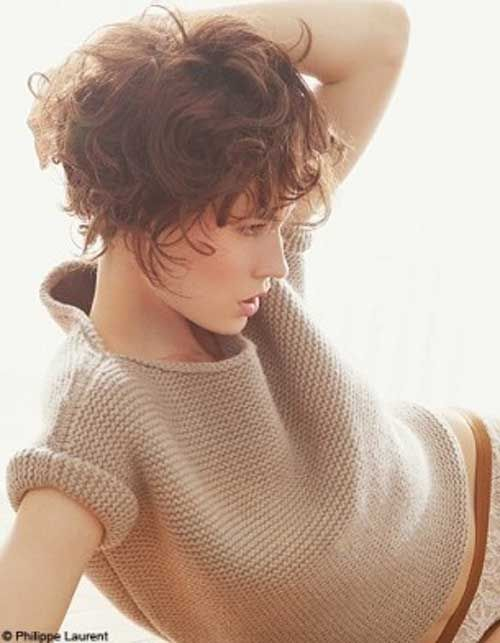 20 Super Short Wavy Hairstyles 2013 Short Haircut for