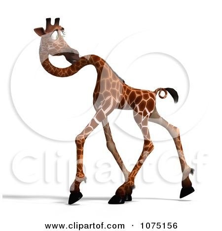 giraffe head coloring pages royalty free rf clipart illustration