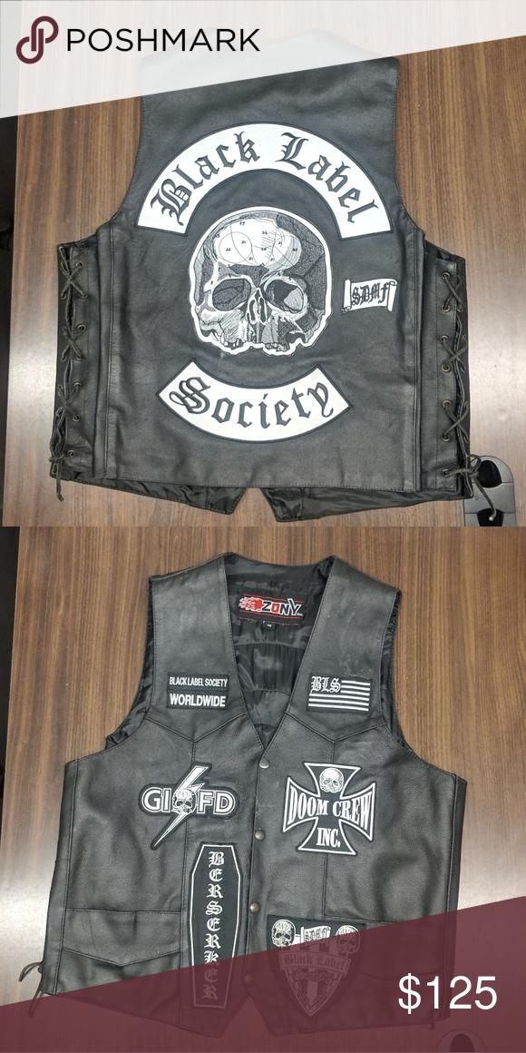 Leather Vest Leather Vest Vest Leather