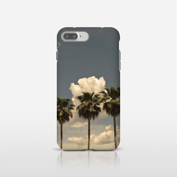 Palm Tree Phone Art Tropical Phone Case Palm Tree Decor Photo