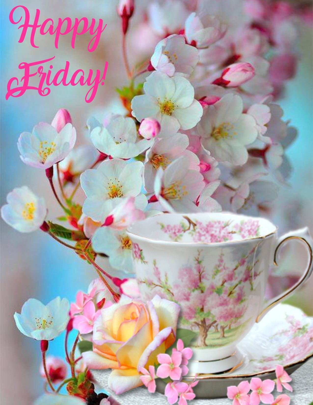 Happy Friday Greetings More Pinterest Happy Friday