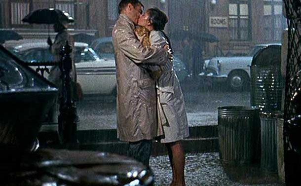 Audrey Hepburn Breakfast At Tiffany S In The Rain Google Search