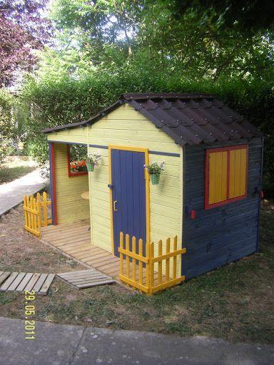 Une maison pour les enfants Pinterest Bricolage - Construire Sa Maison En Palette
