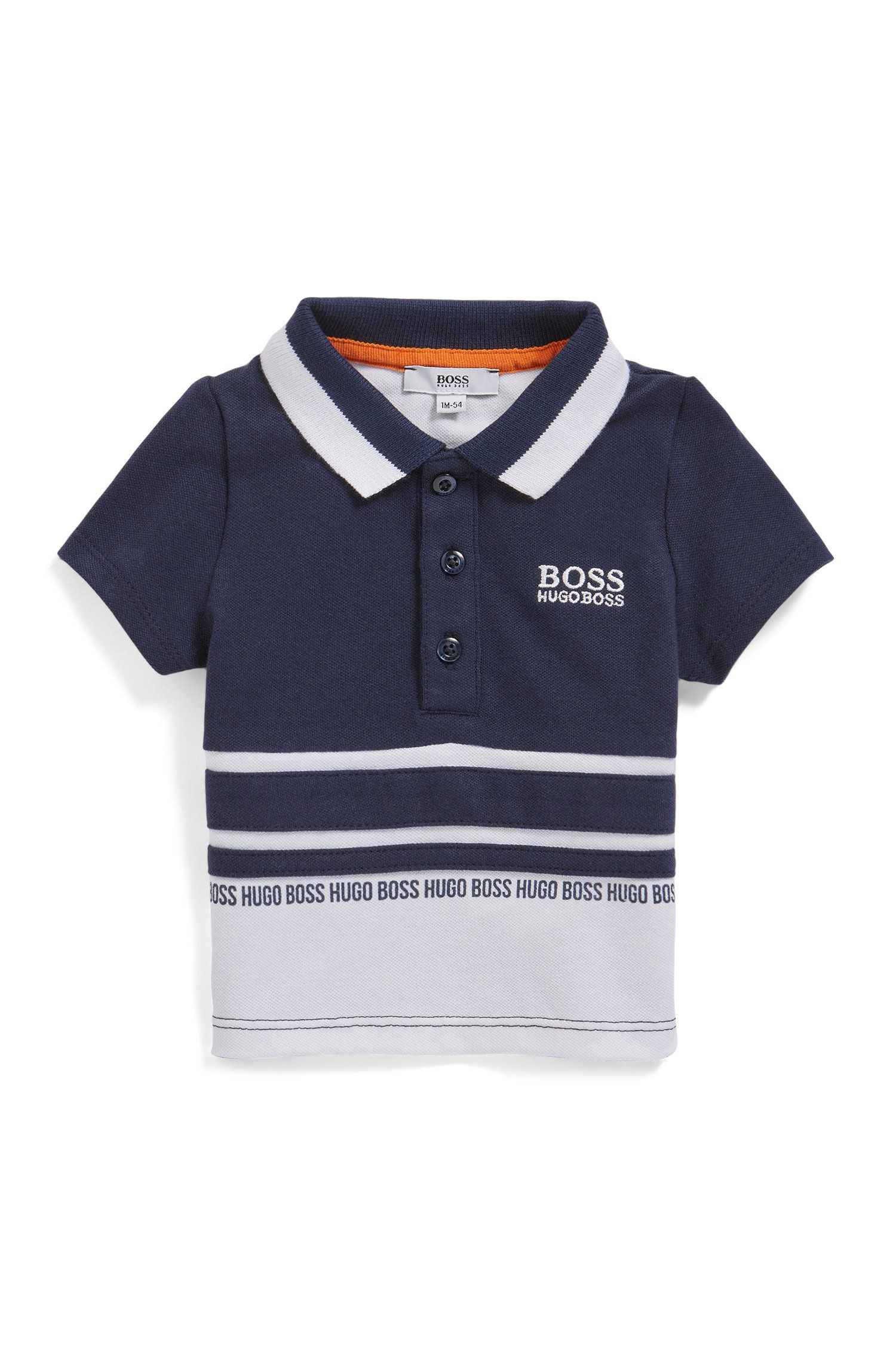 NWT Mayoral Boys/' Long Sleeve Emblem Polo