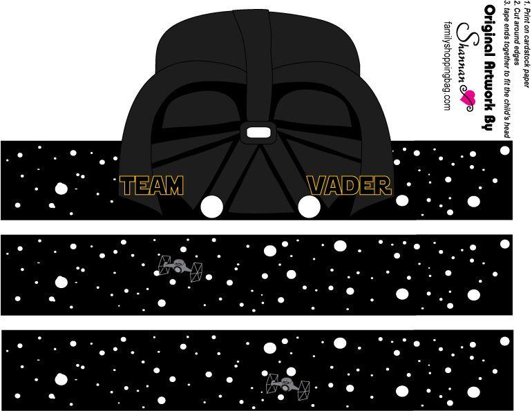 Lindos Gorros para Fiestas de Star Wars o la Guerra de las Galaxias ...