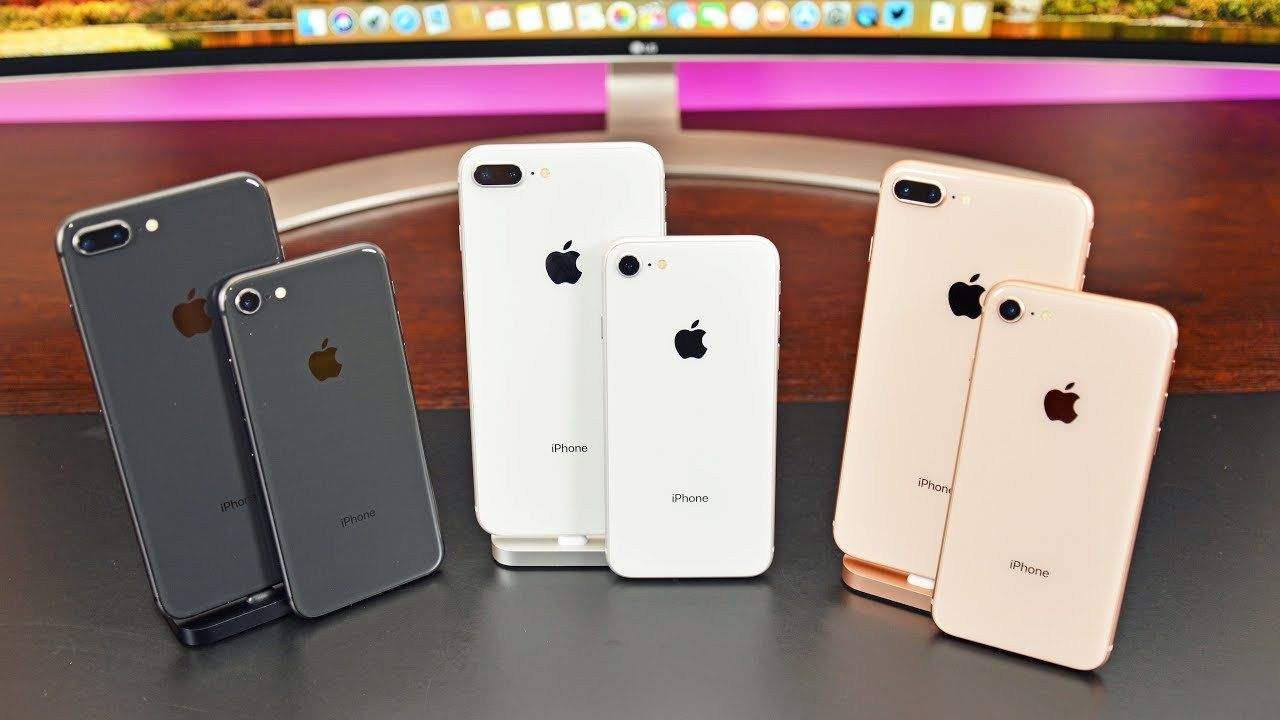Apple Iphone 8 Vs 8 Plus Unboxing Review All Colors Watch Video Here Http Pricephilippines Info Apple Iphone 8 Vs Iphone Iphone Price Apple Iphone