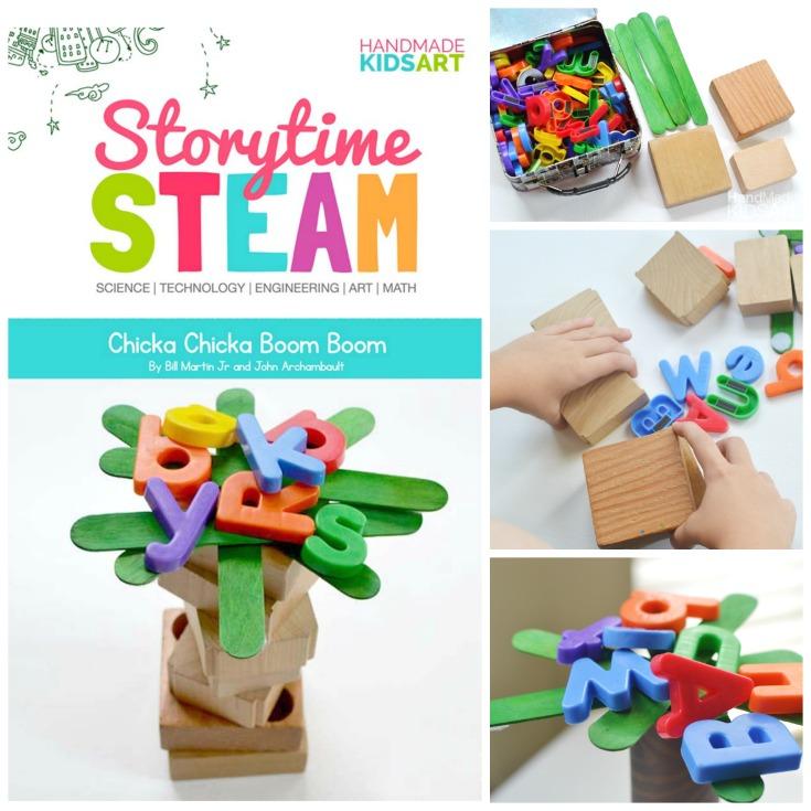 Storytime STEAM with Chicka Chicka Boom Boom | Preschool ...
