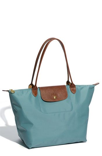 f6dda82db6b Longchamp bags are a classic for a reason. Loving mine in the new spring  color Turquoise.