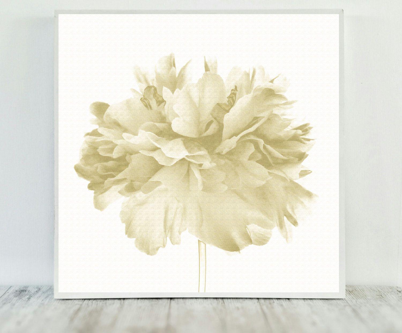 Gold Printable, Floral Beige Decor, Print Gold Art, Printable Floral ...
