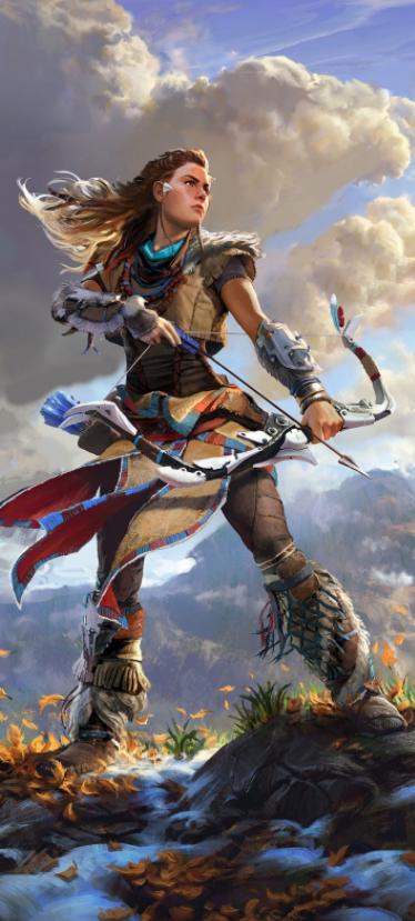 Horizon Zero Dawn Arrives On Pc Via Playstation Now Horizon Zero Dawn Game Concept Art Warrior Woman
