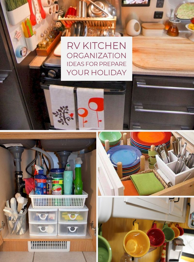 30 Awesome RV Kitchen Organization Ideas For Prepare Your ...