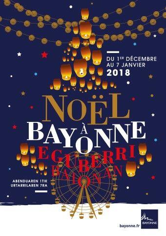 noel 2018 a bayonne Noel à Bayonne   Affiche   Pinterest   Typography noel 2018 a bayonne