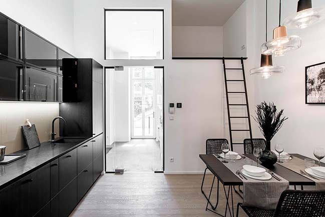 #homedesign #homedecor #interiordesign #modernhouse #house #apartment #flat #renovation #contemporary #grey #cozyhome #beautiful #elegance #decoration #loft #kitchen