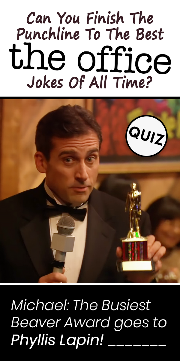 Can You Finish The Punchline To The Best The Office Jokes Of All Time Finish Jokes Office Punchline Ti In 2020 Office Jokes The Office Facts Office Quotes Funny