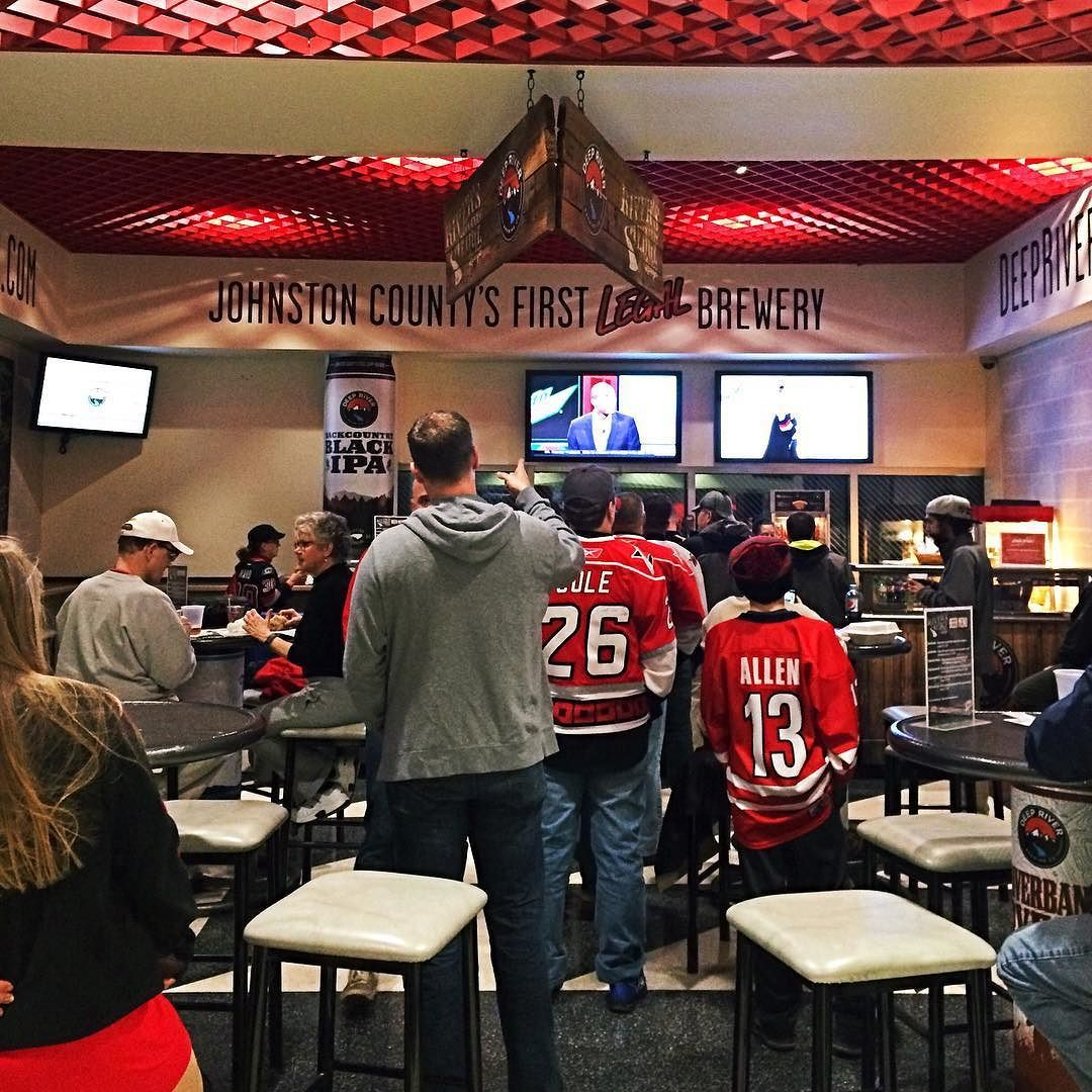 A Friday Night Spent With The Nhlcanes And Deepriverbrewco Is A Good Night If You Re At A Game Check Out The Riv Johnston County Visitors Bureau River Edge