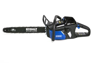 Kobalt Chainsaw 2000003C 80-Volt MAX* Lithium-Ion 18-in