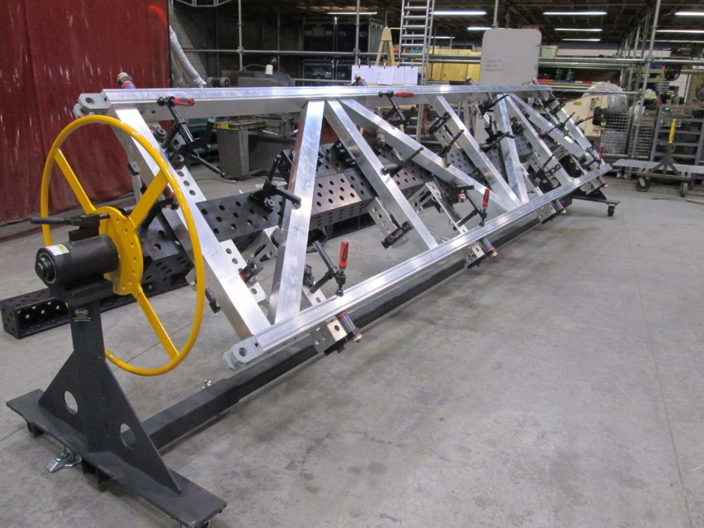 Standard Rollovers With Dct 3d Clamping Systems And 3d