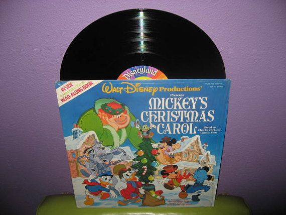 Vinyl Record Album Disney Mickey S Christmas Carol Story