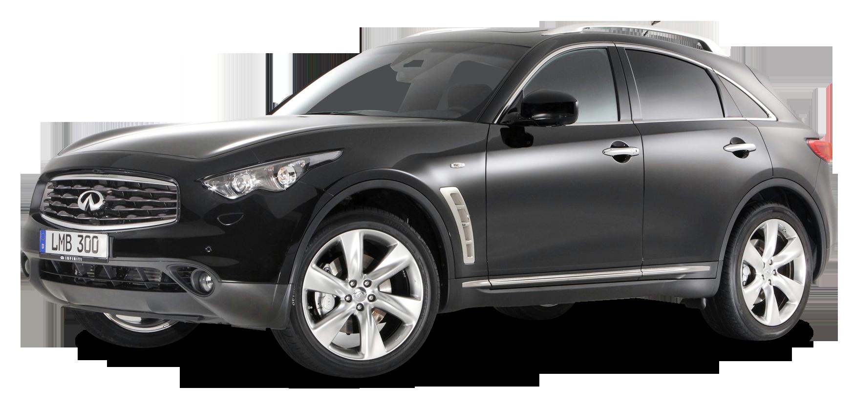 Infiniti Fx30d S Black Car Png Image Black Car Car Infinity Suv