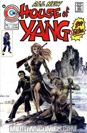 House Of Yang 1 Midtown Comics Charlton Comics Comic Books Art Western Comics