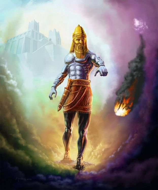 Statue In Nebuchadnezzar S Dream Bible Art Bible Pictures Bible Illustrations