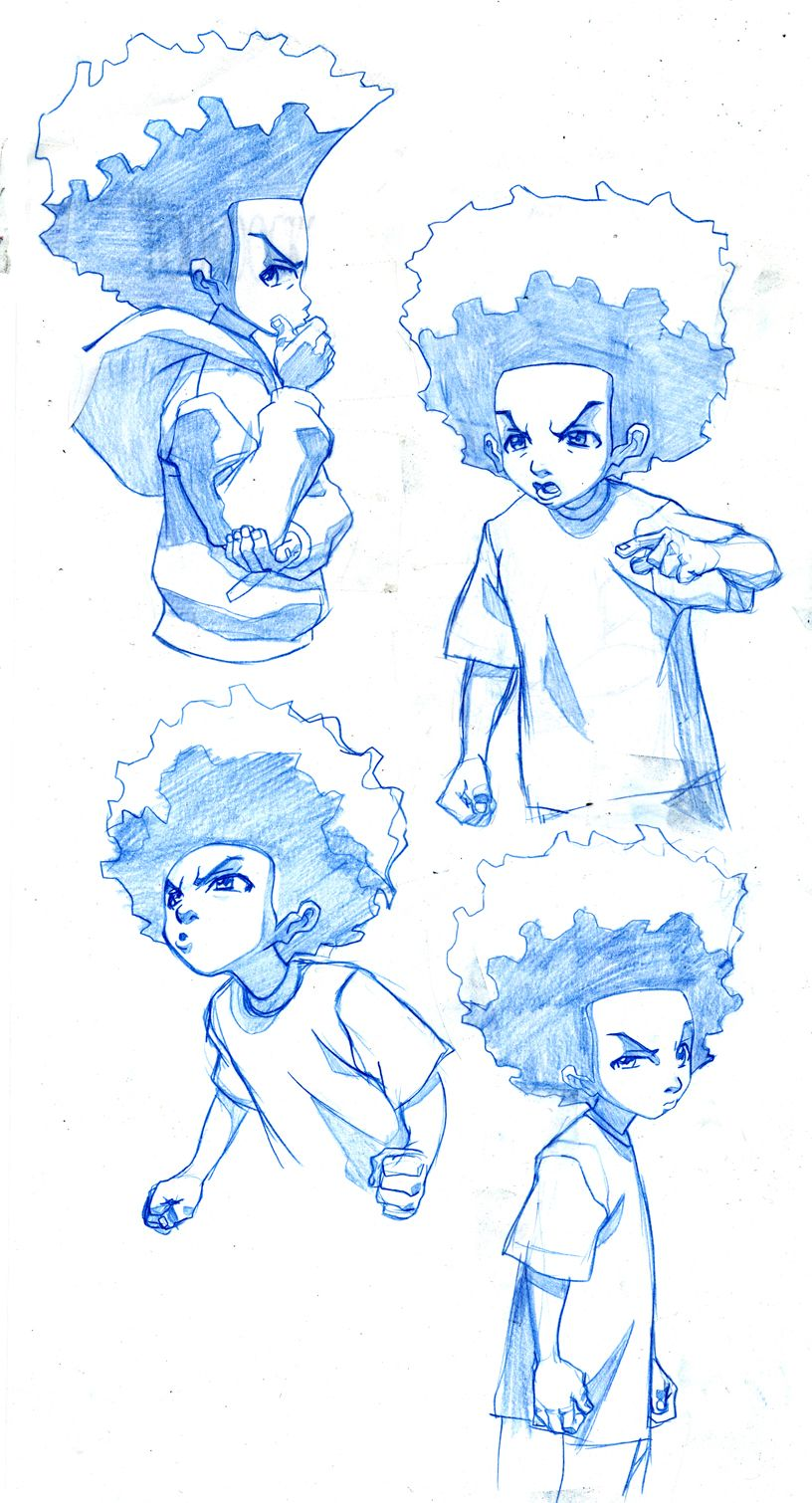 Boondocks Drawing Style : boondocks, drawing, style, Structure