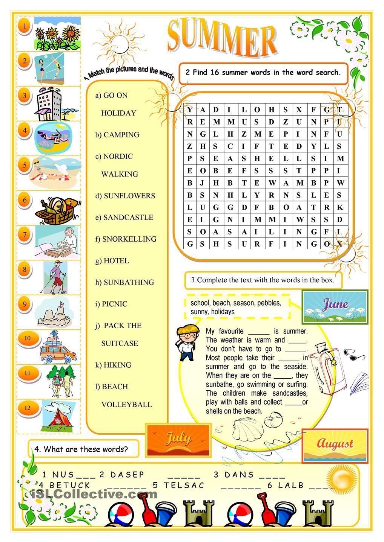 Summer Tata Bahasa Inggris Tata Bahasa Bahasa