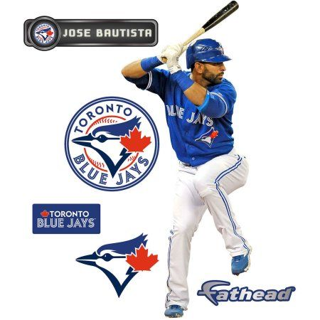 Fathead Jose Bautista Teammate Player, Multicolor