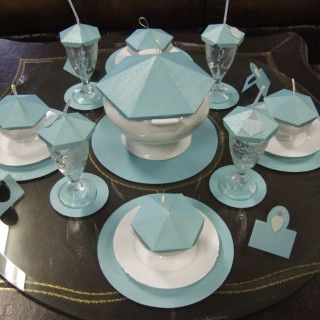 Make paper table decorations patterns $6.95