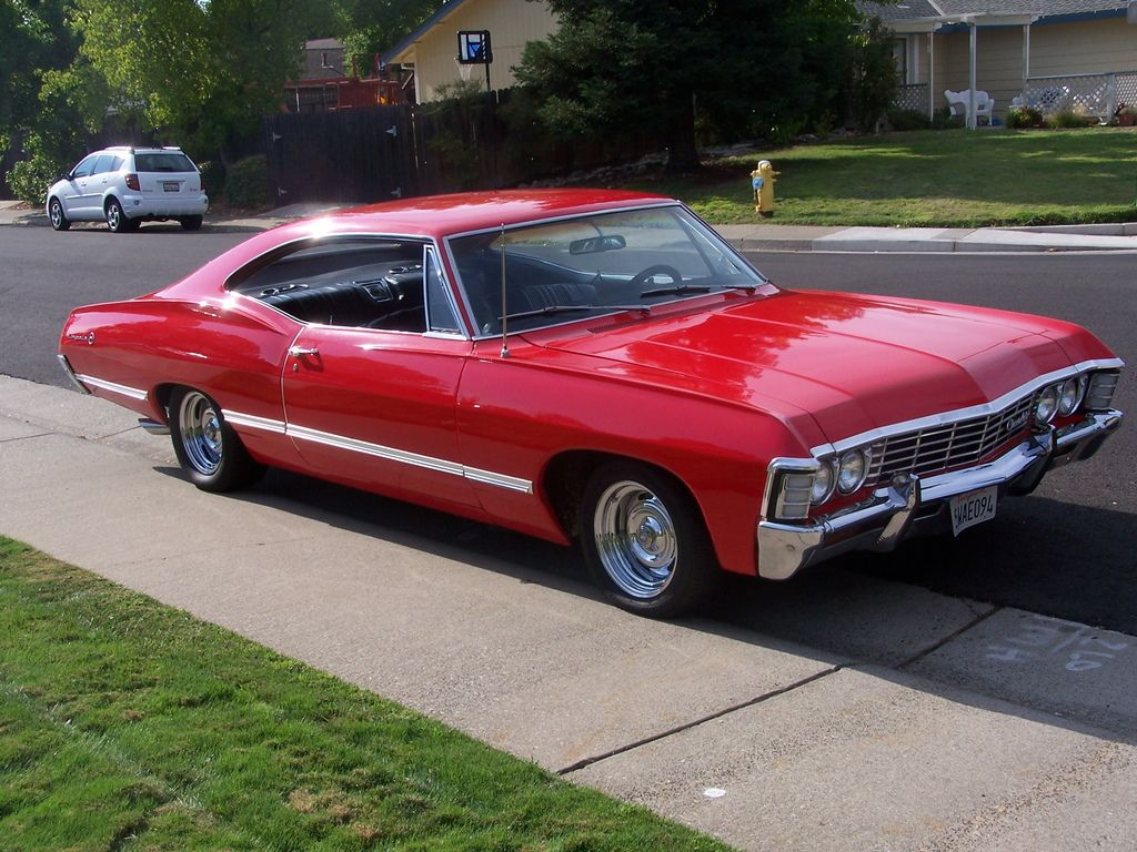 jason 39 s car red impala 67 adf pinterest chevrolet impalas and cars. Black Bedroom Furniture Sets. Home Design Ideas