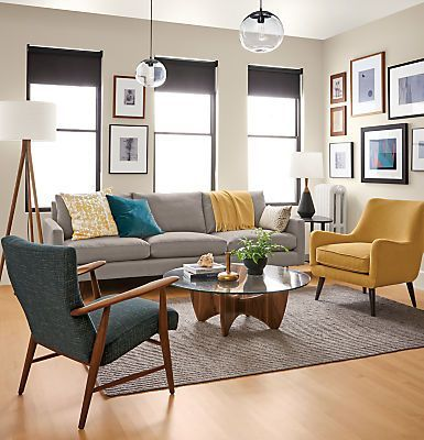 $ 500 Living Room Refresh – zu Hause bei Ashley