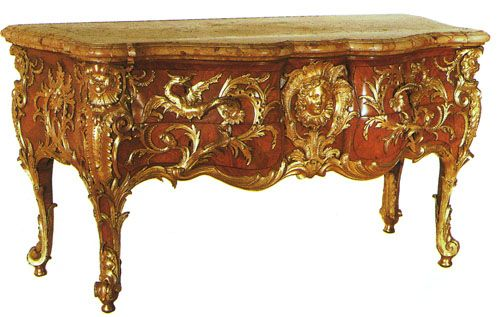 History Of Art Baroque And Rococo Period Furniture English Furniture Style Drawing Room Furniture