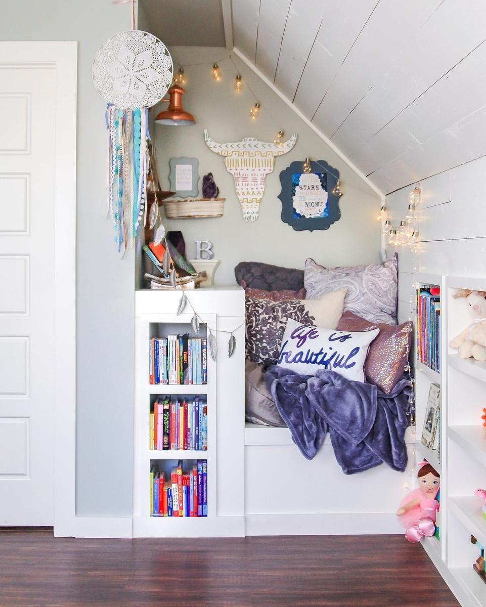 6 Genius Ways To Create A Book Nook Home Decor Attic Remodel Home