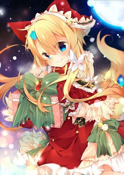 Christmas Anime girl | Christmas Anime | Pinterest | Anime, Anime ...