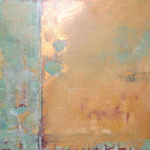 .Sheryl Daane Chesnut Acrylic / canvas 48 x 48