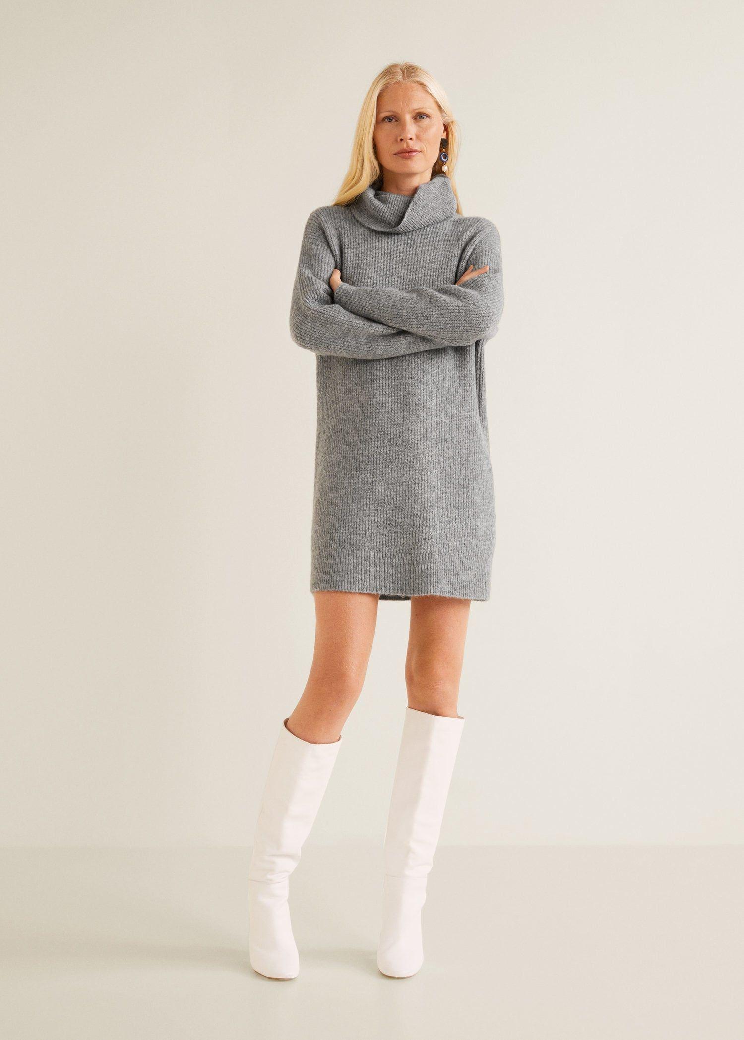 Vestidos de punto invierno 2019