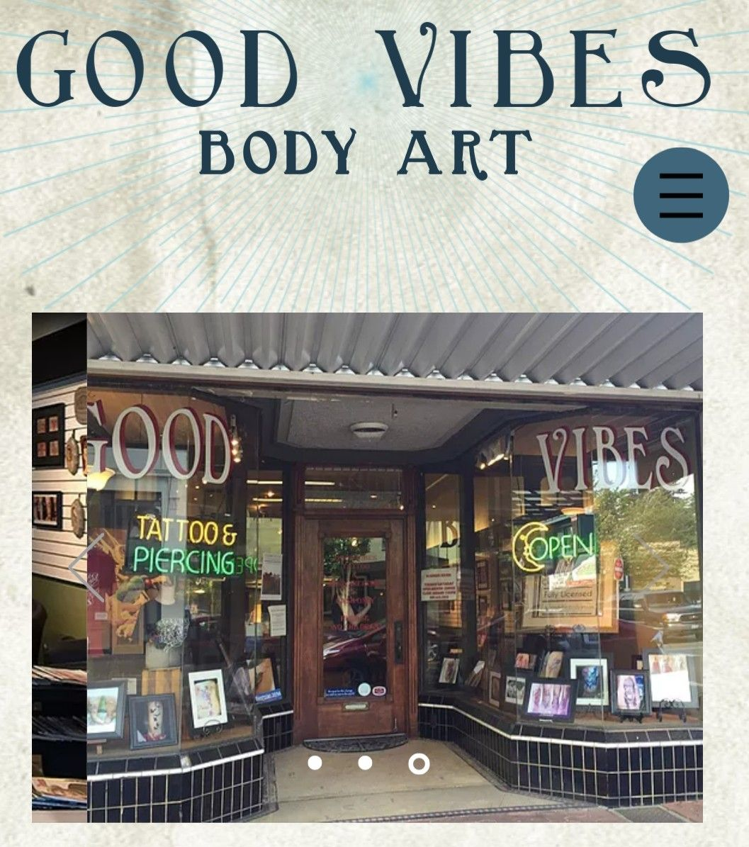 Good vibes body art this pacific northwest tattoo shop