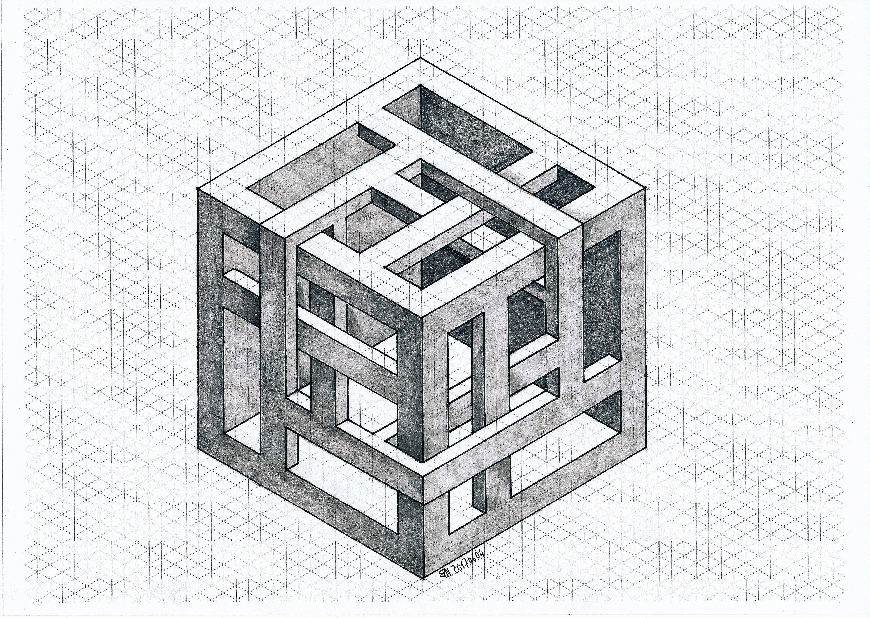 Impossible Isometric Geometry Symmetry Penrose