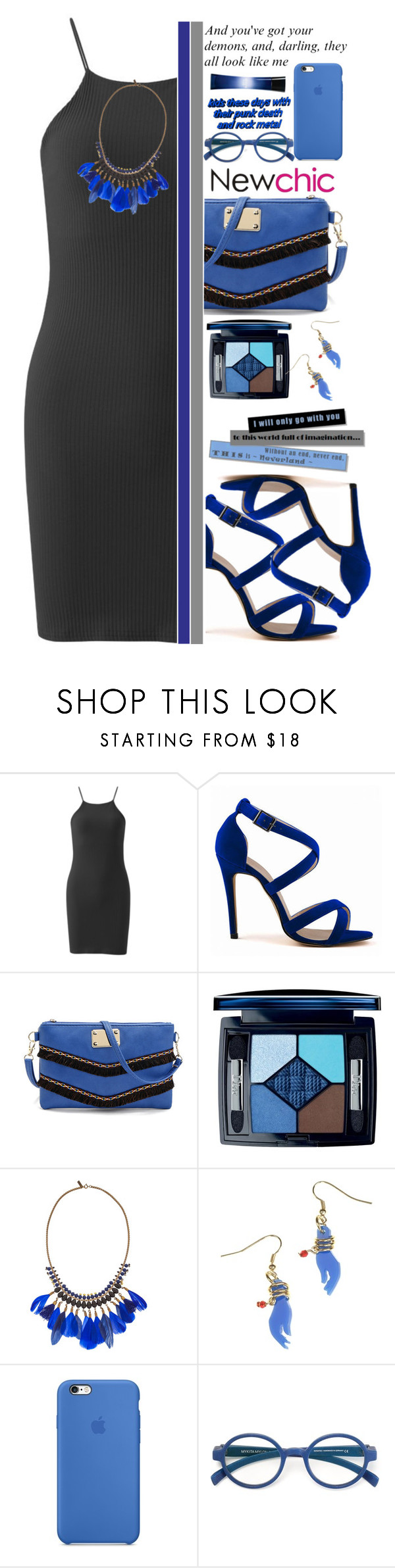"""""""Newchic (9\10) ♥"""" by av-anul ❤ liked on Polyvore featuring Christian Dior, Isabel Marant, Mykita, Giorgio Armani, RedCarpet, topset, newchic and avanul"""
