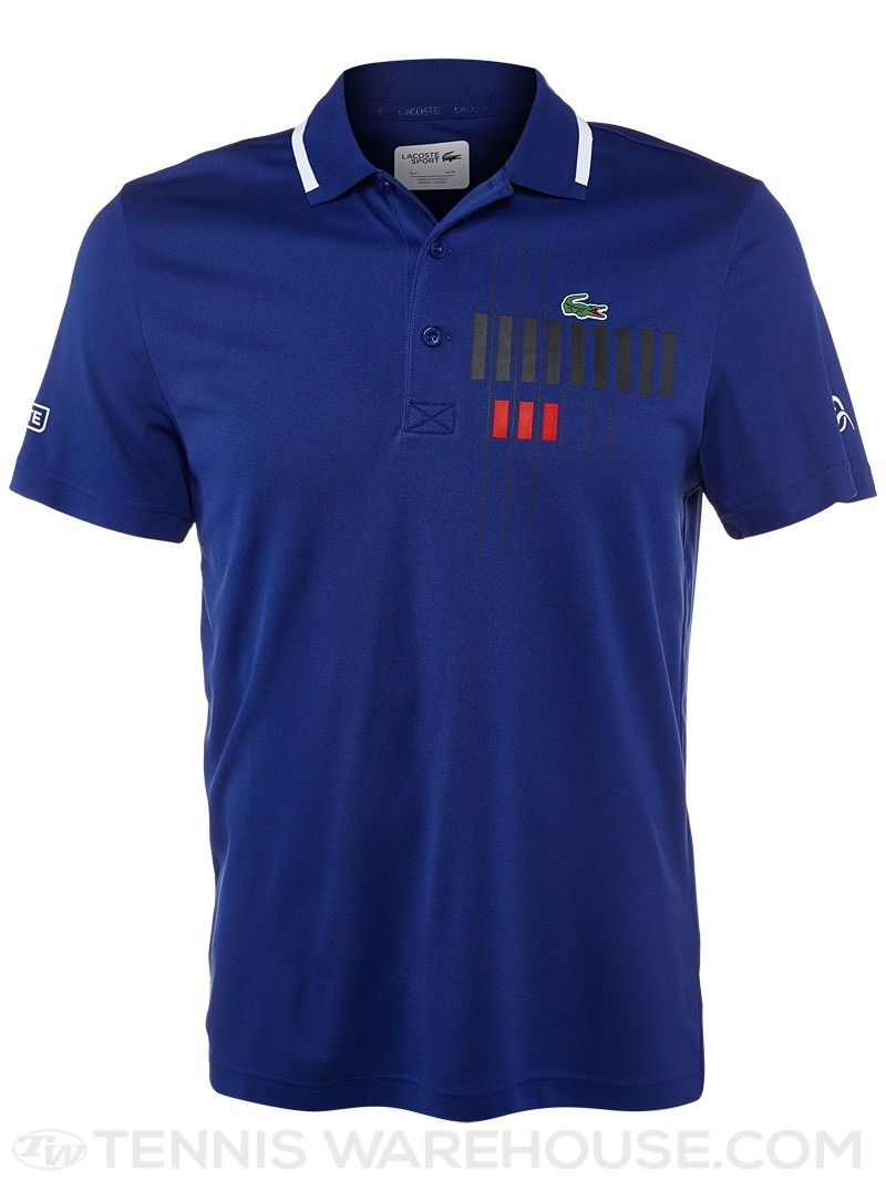 Lacoste Men S Novak Djokovic Chest Graphic Polo Mens Outfits Lacoste Men Apparel Design