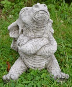 dragon garden statues. Naughty Dragon Stone Garden Ornament - £29.99 | Garden4Less UK Shop Statues K